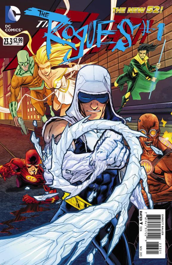 Flash 23.3 - Rogues
