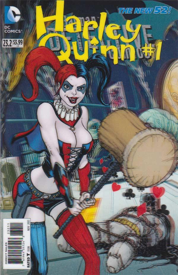 Batman - Detective Comics 23.2 - Harley Quinn