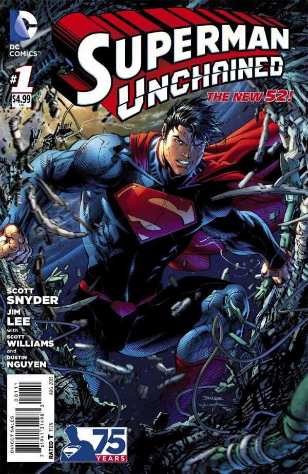 Superman Unchained 1 - The Leap