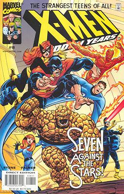 X-Men - Hidden Years 8 - Shadow on the Stars