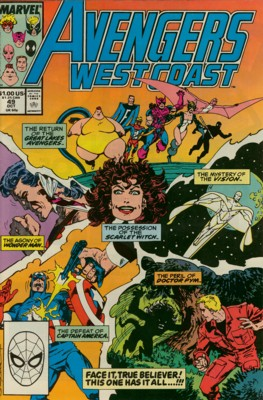 Avengers West Coast 49 - Baptism of Fire!