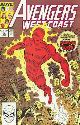 Avengers West Coast 50 - Return of the Hero