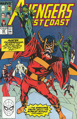 Avengers West Coast 52 - Fragments of a Greater Darkness