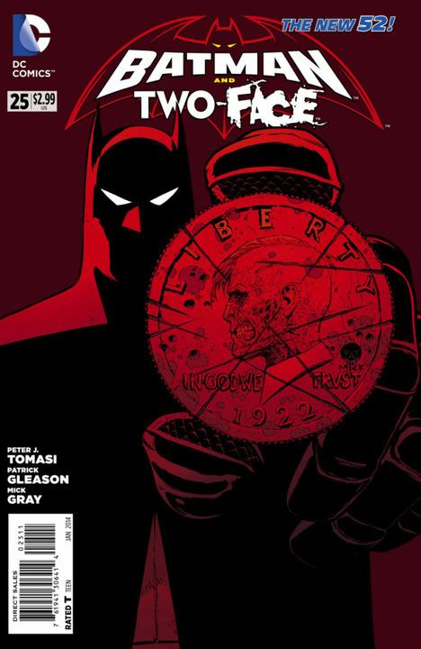Batman & Robin 25 - Batman and Two-Face
