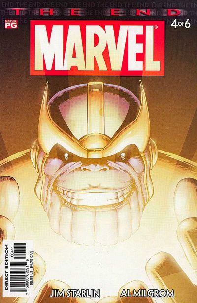 marvel universe the end 4 - Contamination