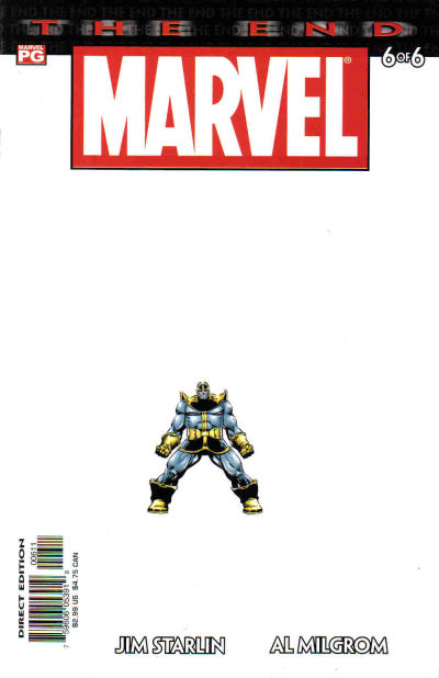 marvel universe the end 6 - The Cure