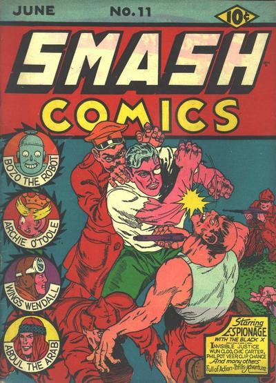 Smash Comics 11