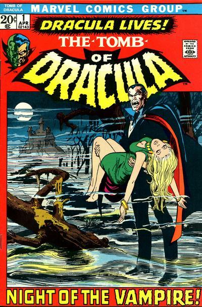 Le tombeau de Dracula 1 - Dracula
