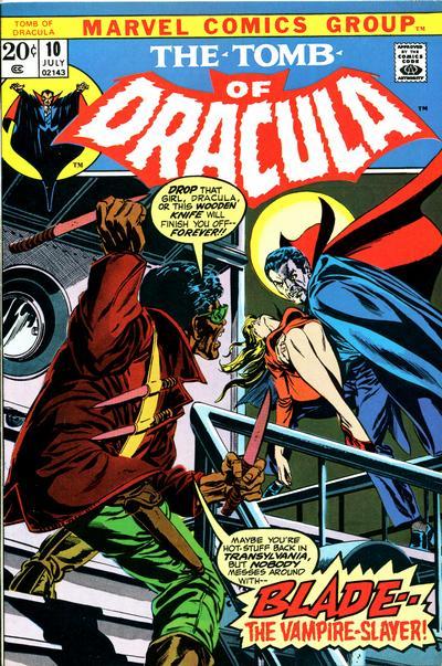 Le tombeau de Dracula 10 - His Name is... Blade!
