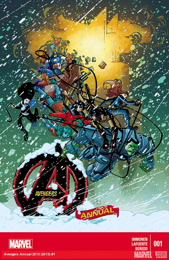 Avengers 1 - It's the Most Loneliest Time of the Year!