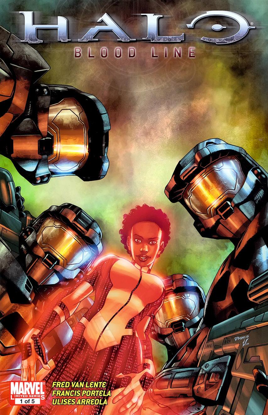 Halo - Blood line 1 - Halo, Blood Line Chapter 1