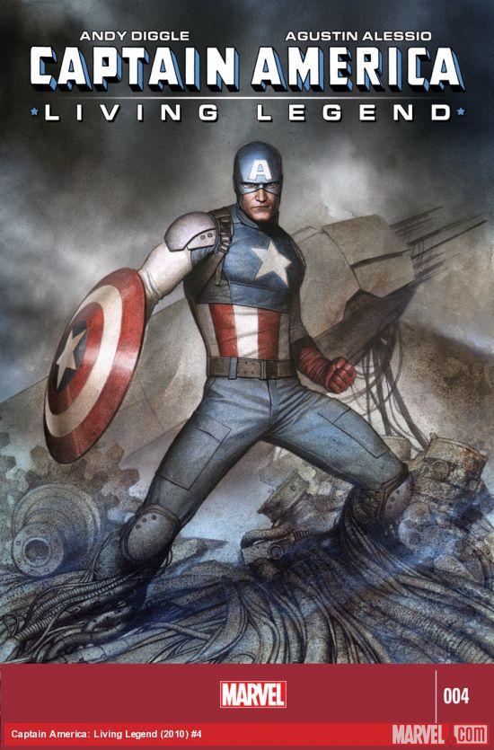 Captain America - La Légende Vivante 4