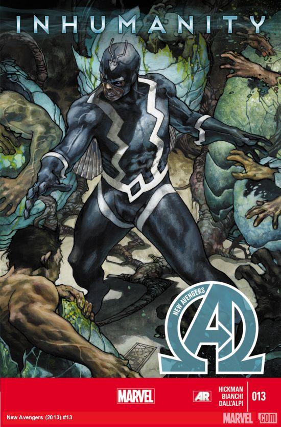 New Avengers 13 - Inhumanity