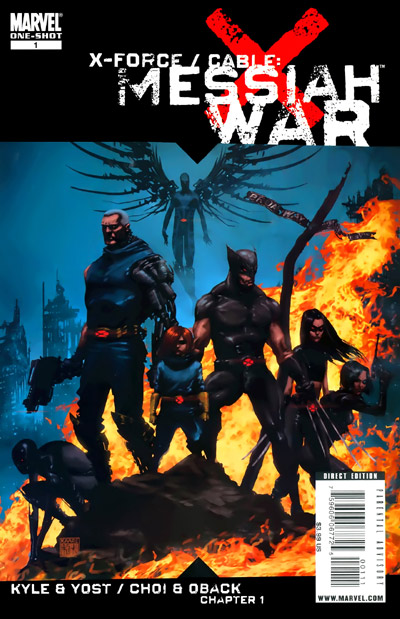 X-Force / Cable - Messiah War 1