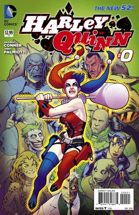 Harley Quinn 0 - Picky Sicky (Roux Variant)