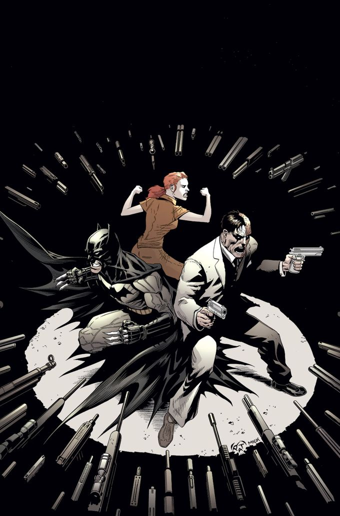 Batman & Robin 28 - Batman and Two-Face