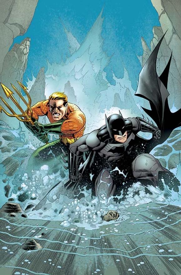 Batman & Robin 29 - Batman and Aquaman