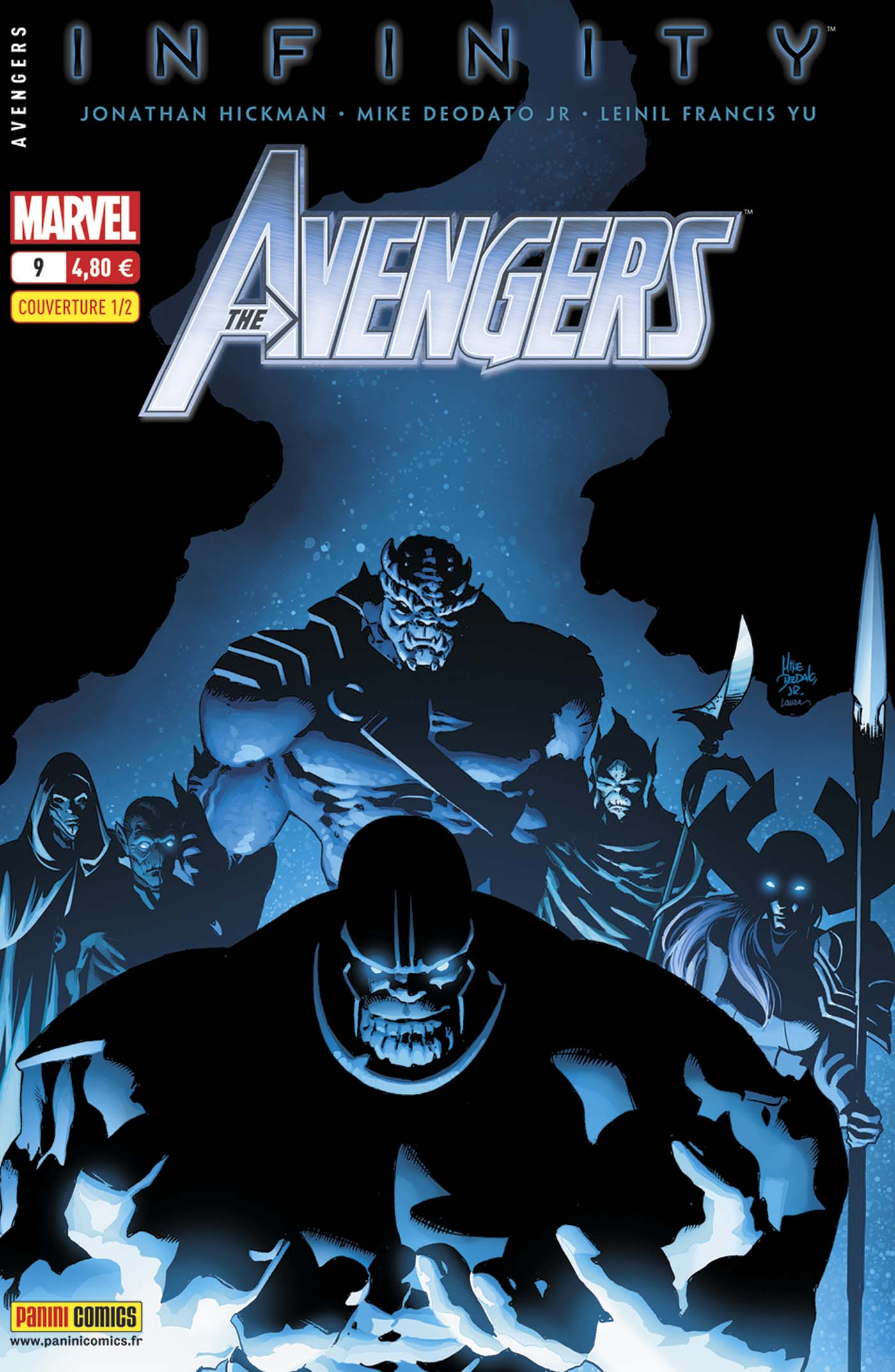 Avengers 9 - Couverture 1/2 : Mike Deodato