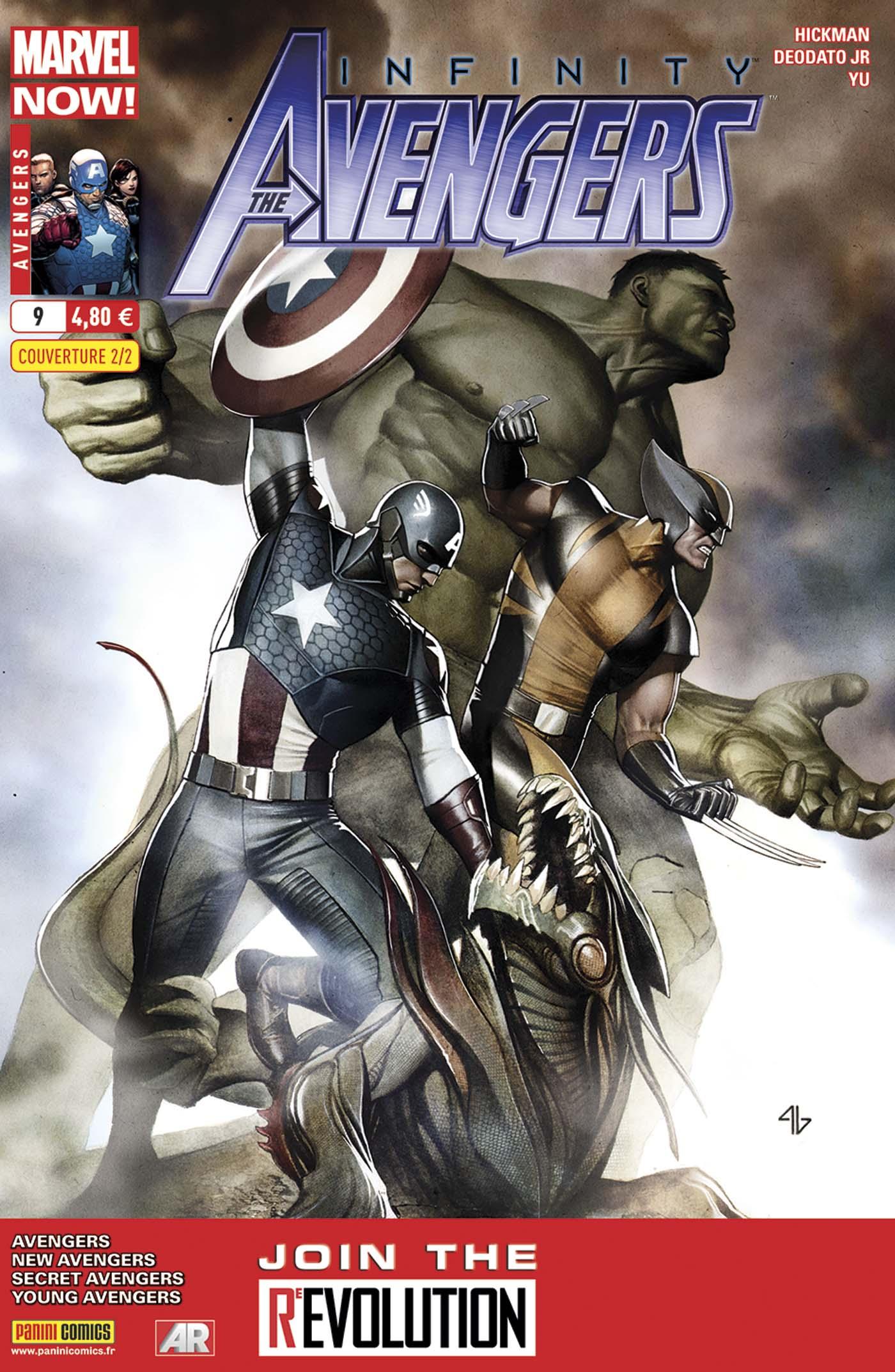 Avengers 9 - Couverture 2/2 : Adi Granov