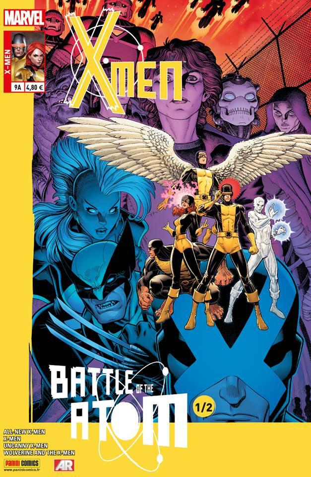 X-Men 9 - LA BATAILLE DE L'ATOME (1/2) Couverture A : Arthur Adams