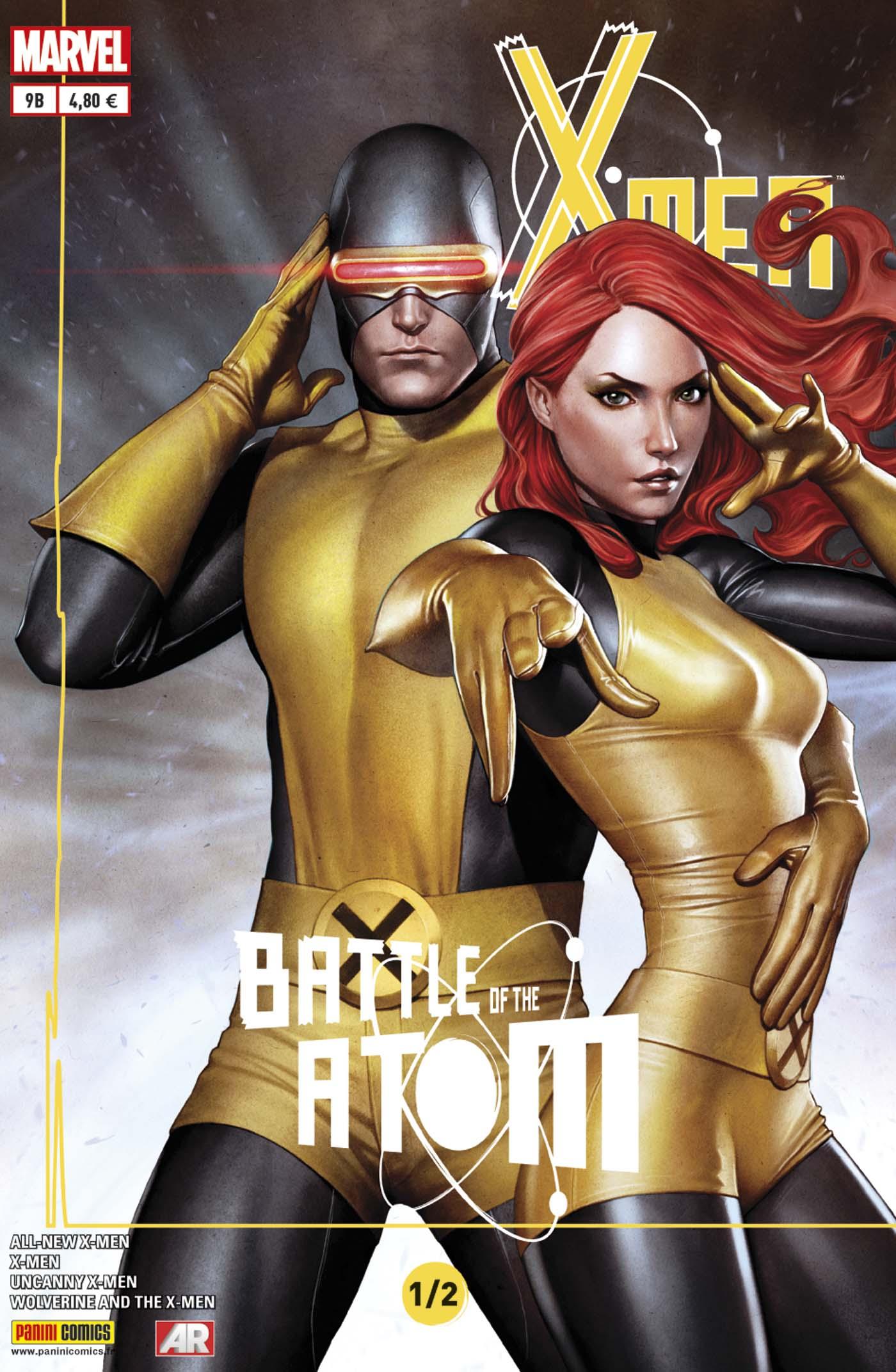 X-Men 9 - LA BATAILLE DE L'ATOME (1/2) Couverture B : Adi Granov