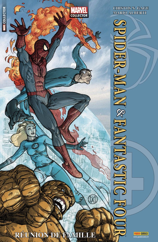 Marvel Collector 1 - SPIDER-MAN & FANTASTIC FOUR