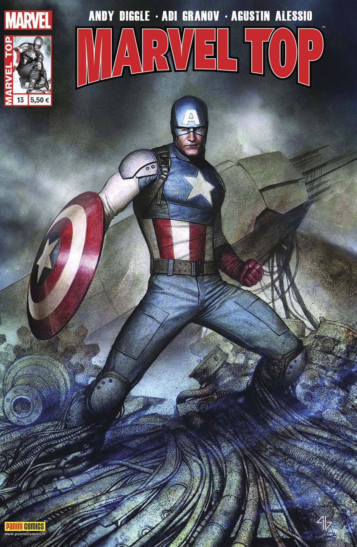 Marvel Top 13 - CAPTAIN AMERICA - LA LÉGENDE VIVANTE