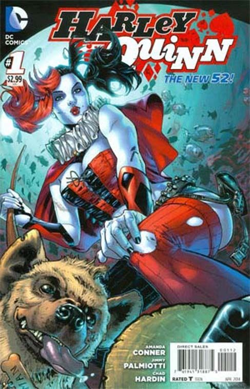 Harley Quinn 1 - Hot in the City (2nd Printing Variant)