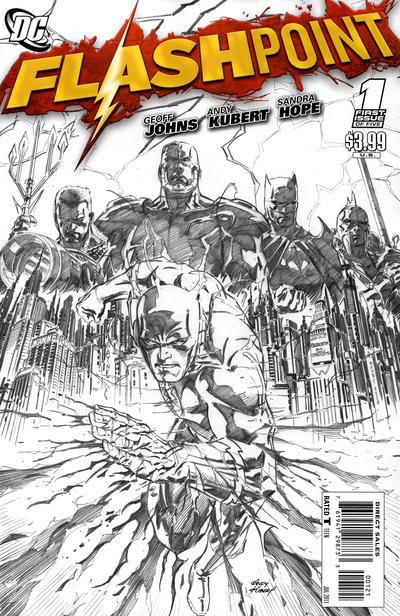 Flashpoint 1 - Flashpoint, Chapter One of Five (Kubert Sketch Variant)