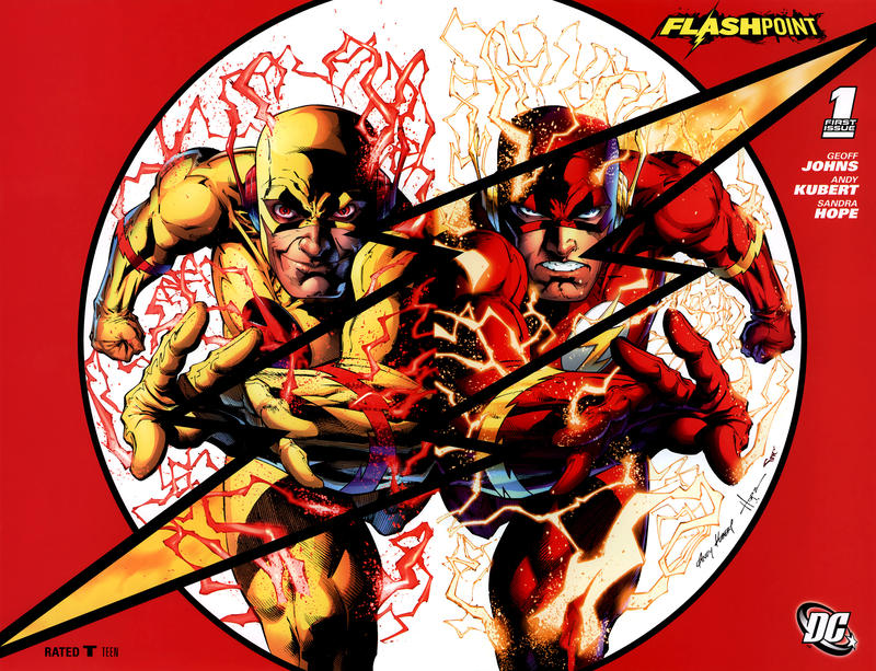 Flashpoint 1 - Flashpoint, Chapter One of Five (SDCC Variant)