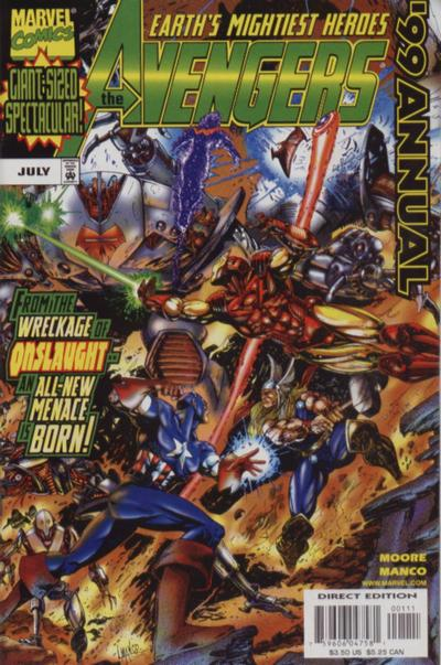 Avengers 1 - Annual 1999: Day of the Remains