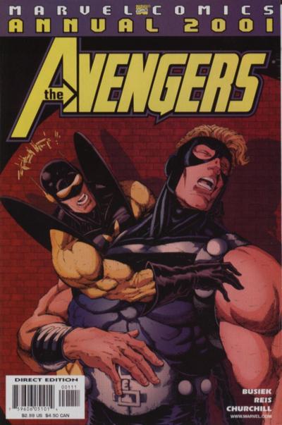 Avengers 3 - Annual 2001: The Third Man