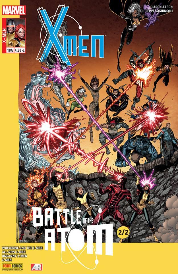 X-Men 10 - LA BATAILLE DE L'ATOME (2/2), Couverture A - Art Adams