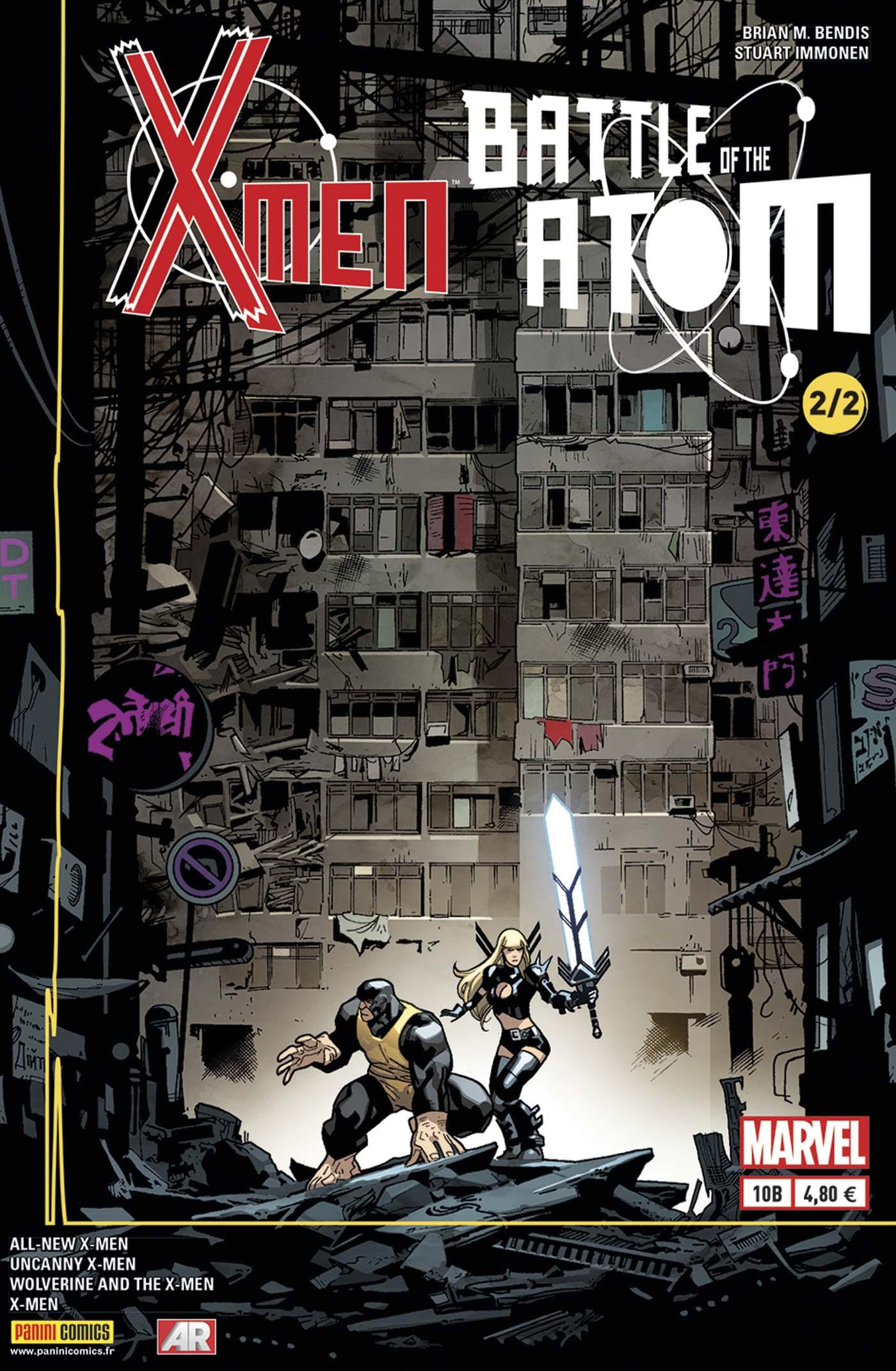 X-Men 10 - LA BATAILLE DE L'ATOME (2/2), Couverture B - Stuart Immonen