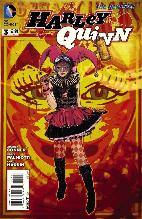 Harley Quinn 3 - Love Stinks! (Steampunk Variant)