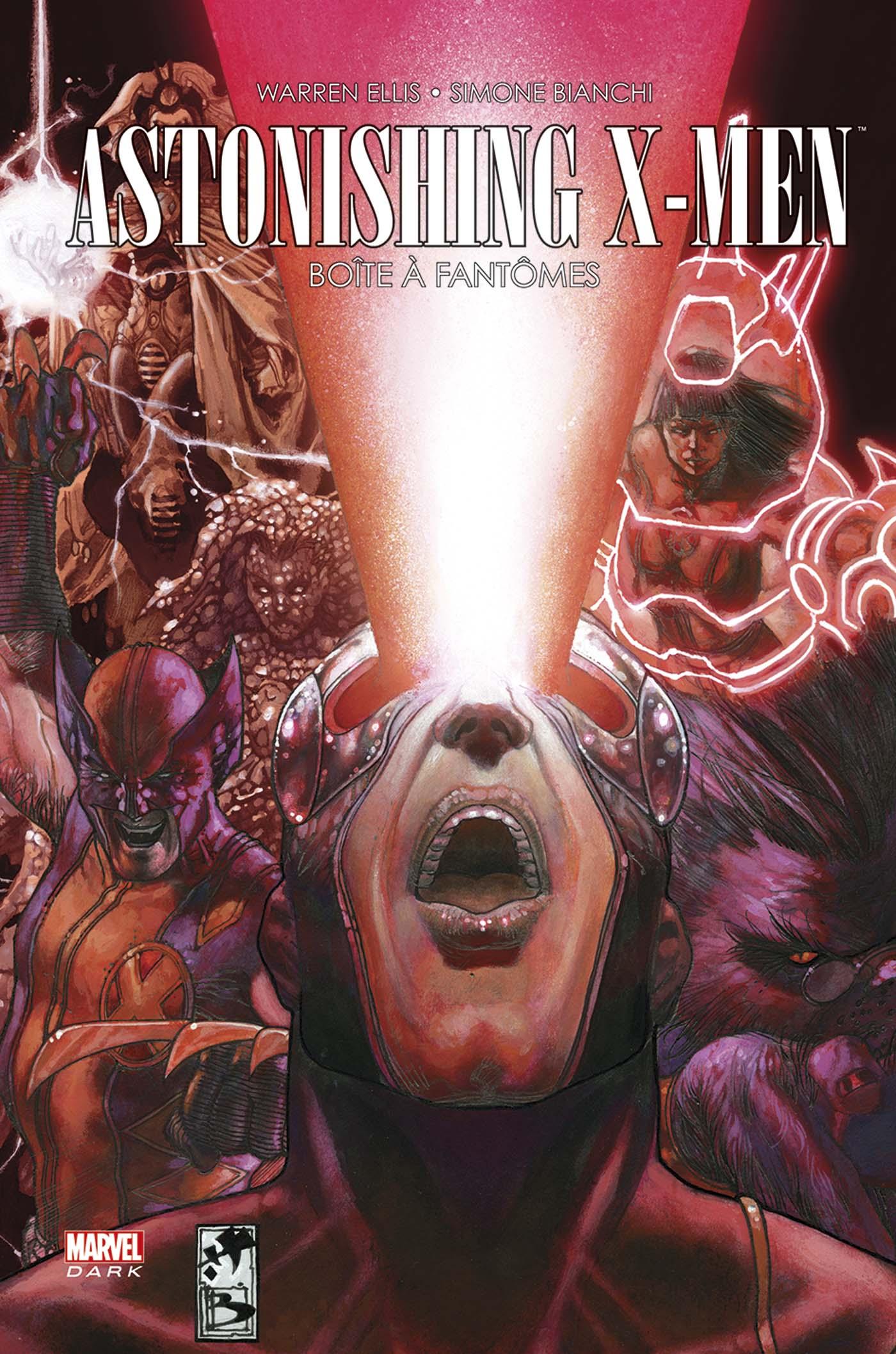 Astonishing X-Men - La boîte à fantômes 1 - La boîte à fantômes