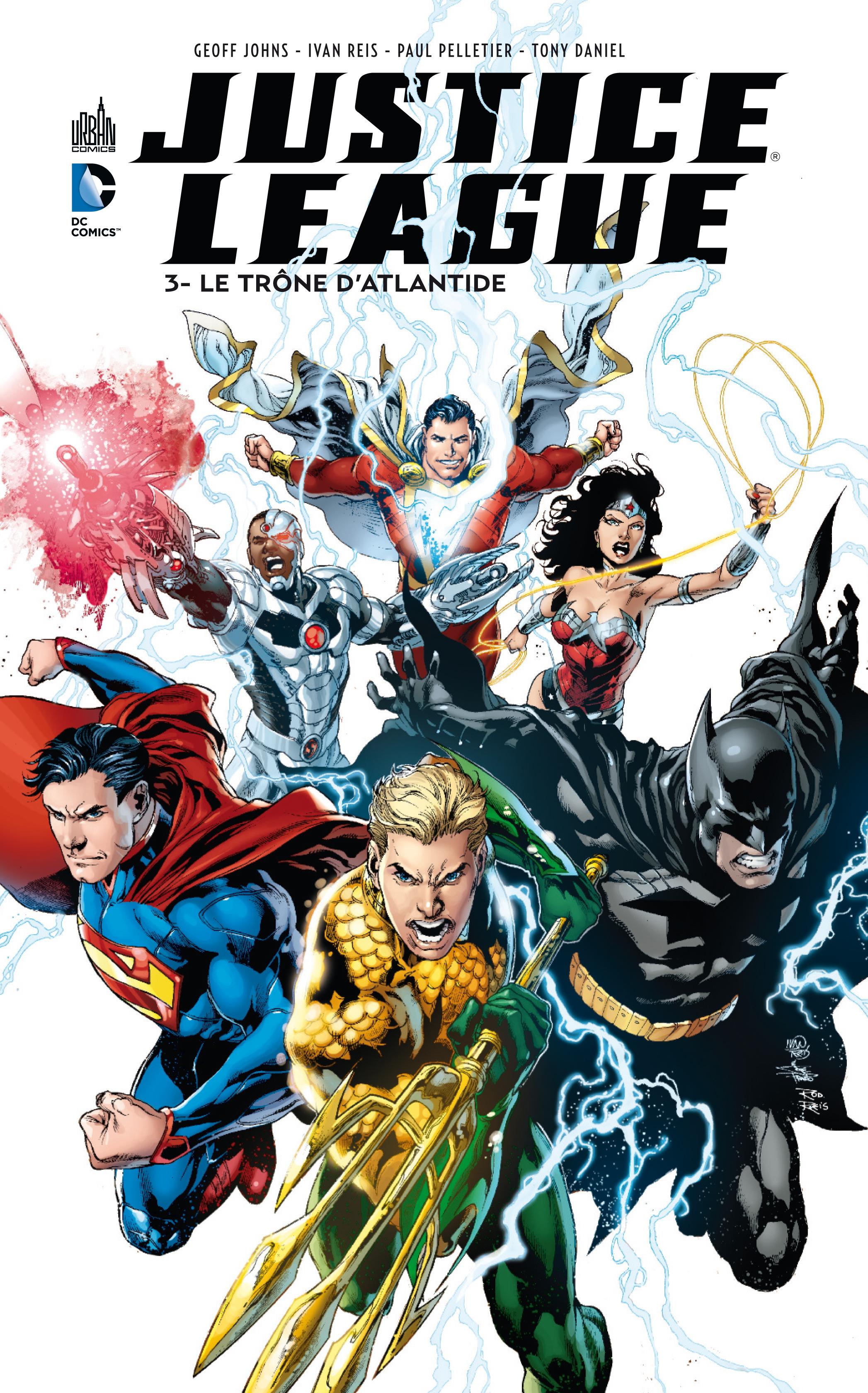Justice League 3 - Le trône d'Atlantide