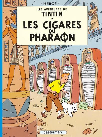 Les aventures de Tintin 4 - Les cigares du pharaon