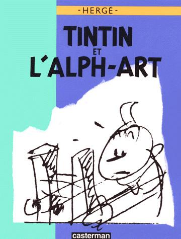 Les aventures de Tintin 24 - Tintin et l'alph-art