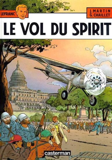 Lefranc 13 - Le vol du Spirit