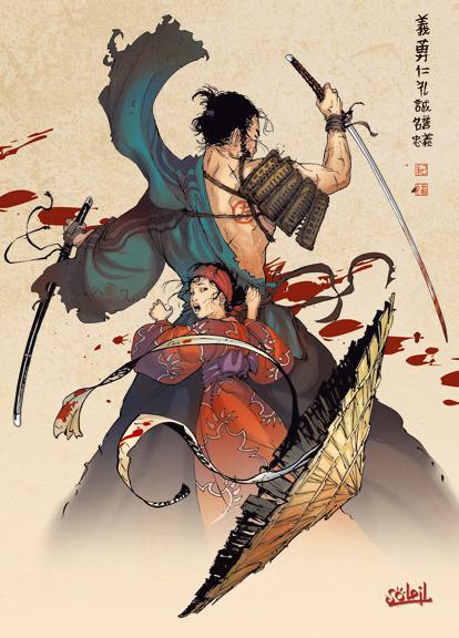 Samurai 1 - Coffret 3 volumes : T1 à T3 + 1 cale