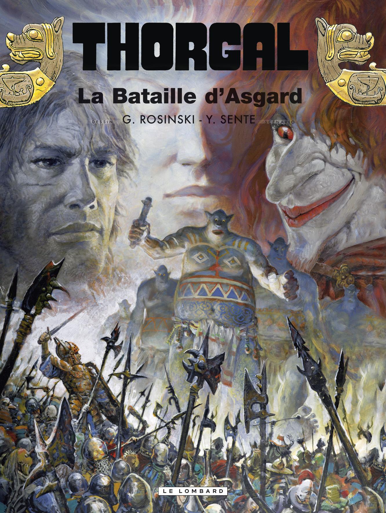 Thorgal 32 - La bataille d'Asgard