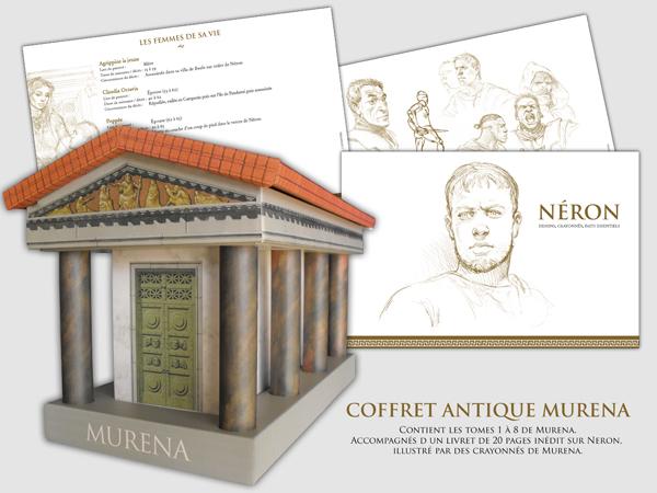Murena 1 - Coffret en 8 volumes : T1 à T8