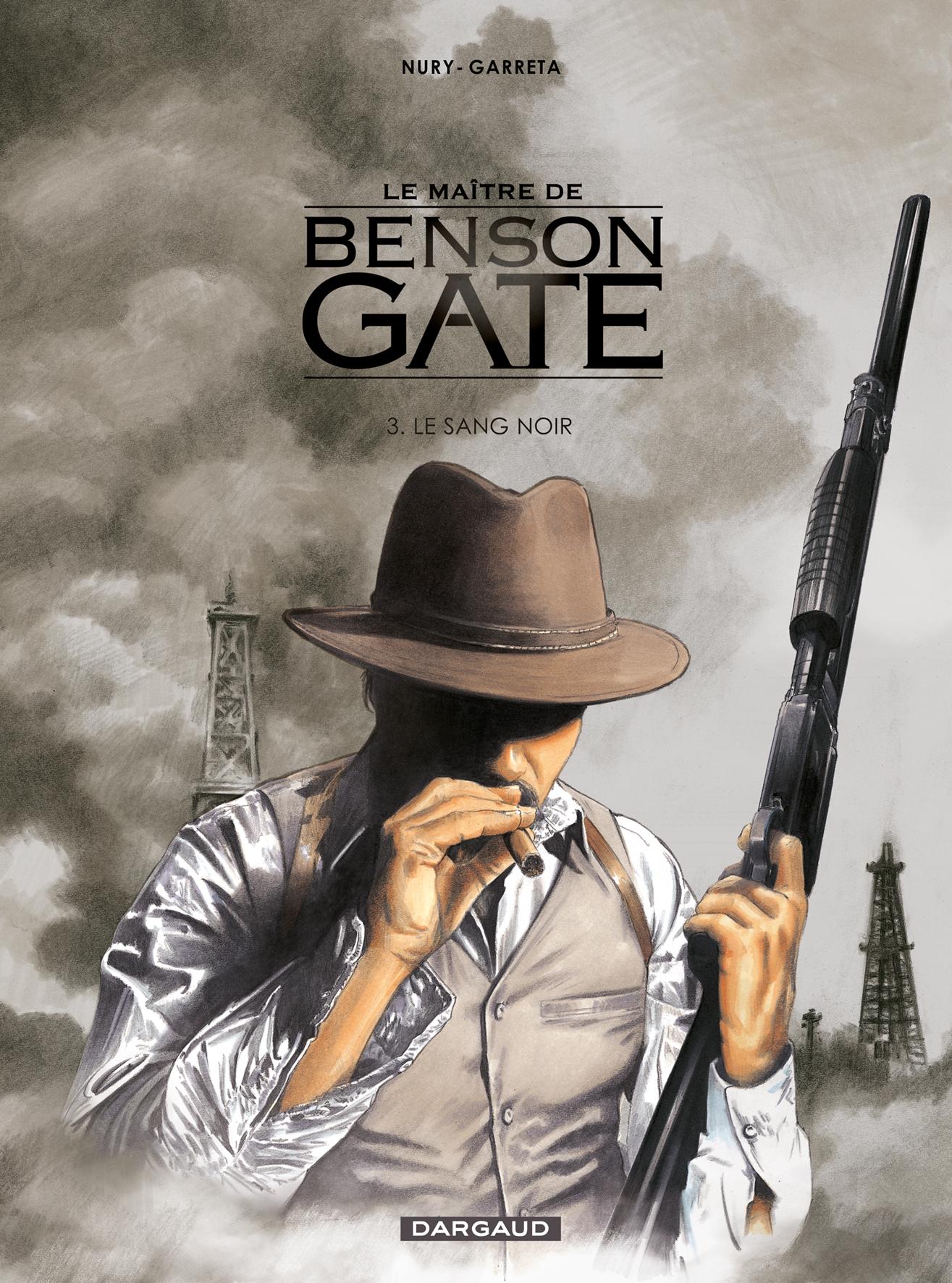 Le maître de Benson Gate 3 - Le sang noir
