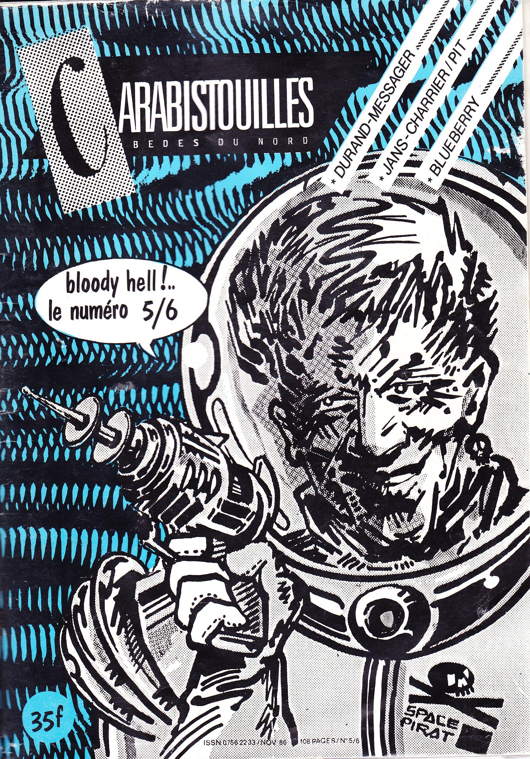 Carabistouilles - Bédés du nord 5 - Bloody Hell! Le numéro 5/6