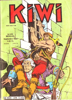 Kiwi 329 - Le canon diabolique !
