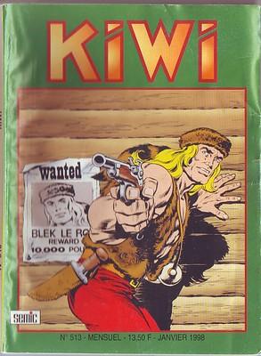 Kiwi 513 - Du feu sur la glace !