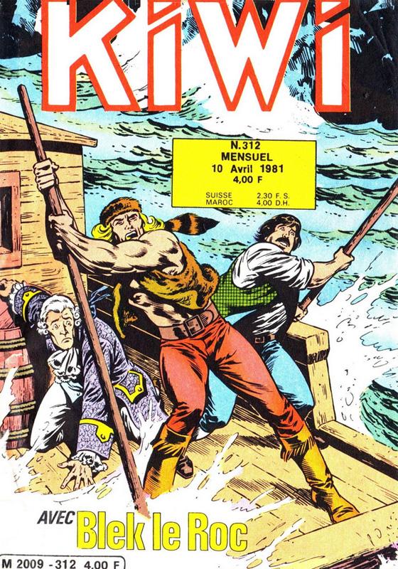 Kiwi 312 - Six hommes à la dérive !