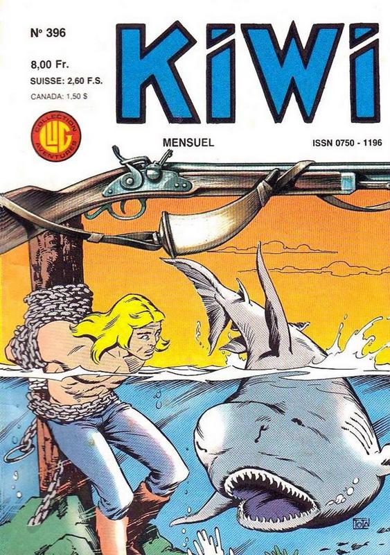 Kiwi 396 - Les naufrageurs de Nanterville