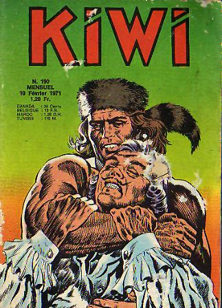 Kiwi 190 - L'indien fantôme